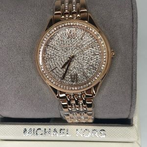 Michael Kors Mindy Rose gold watch